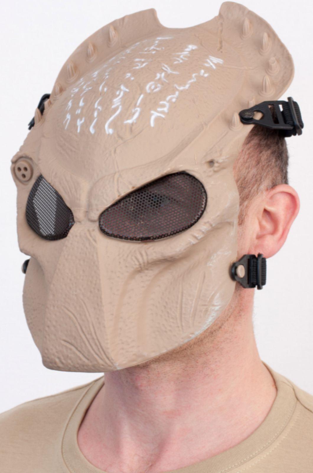 Шлем-маска Хищника из ударопрочного пластика