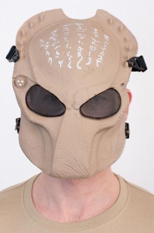 Шлем-маска Хищника