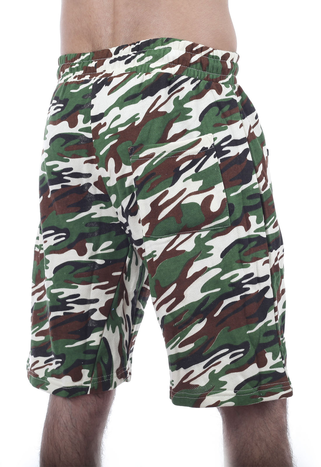Недорогие армейские шорты с карманами
