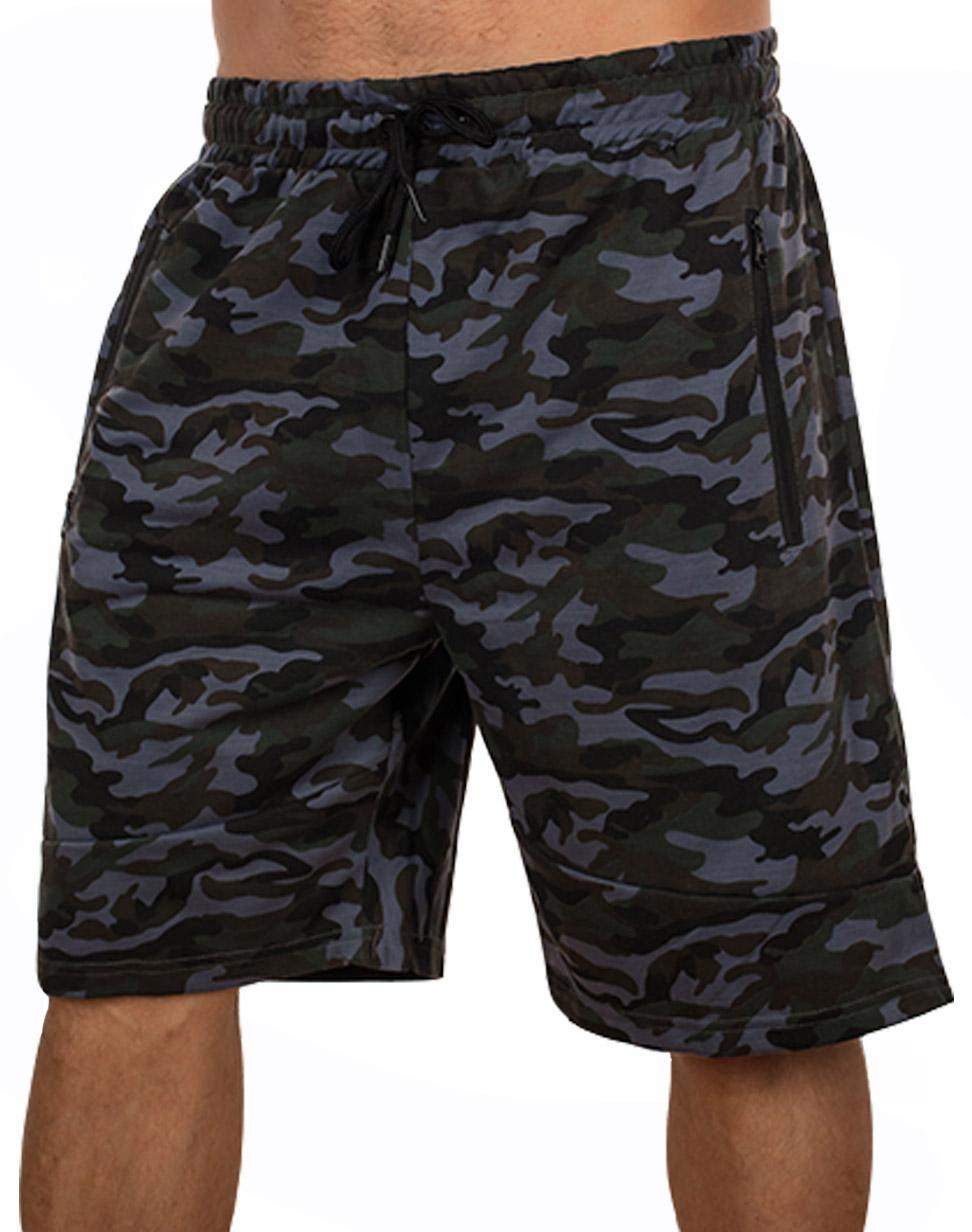 Купить в интернет магазине камуфляжные шорты New York Athletics