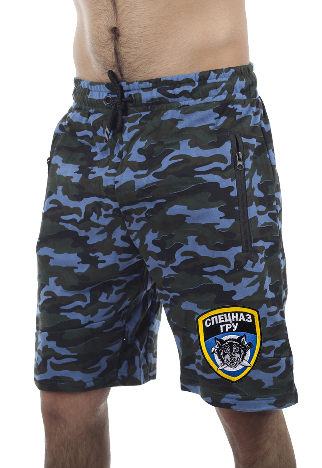 Купить в военторге Военпро военные шорты с эмблемой ГРУ