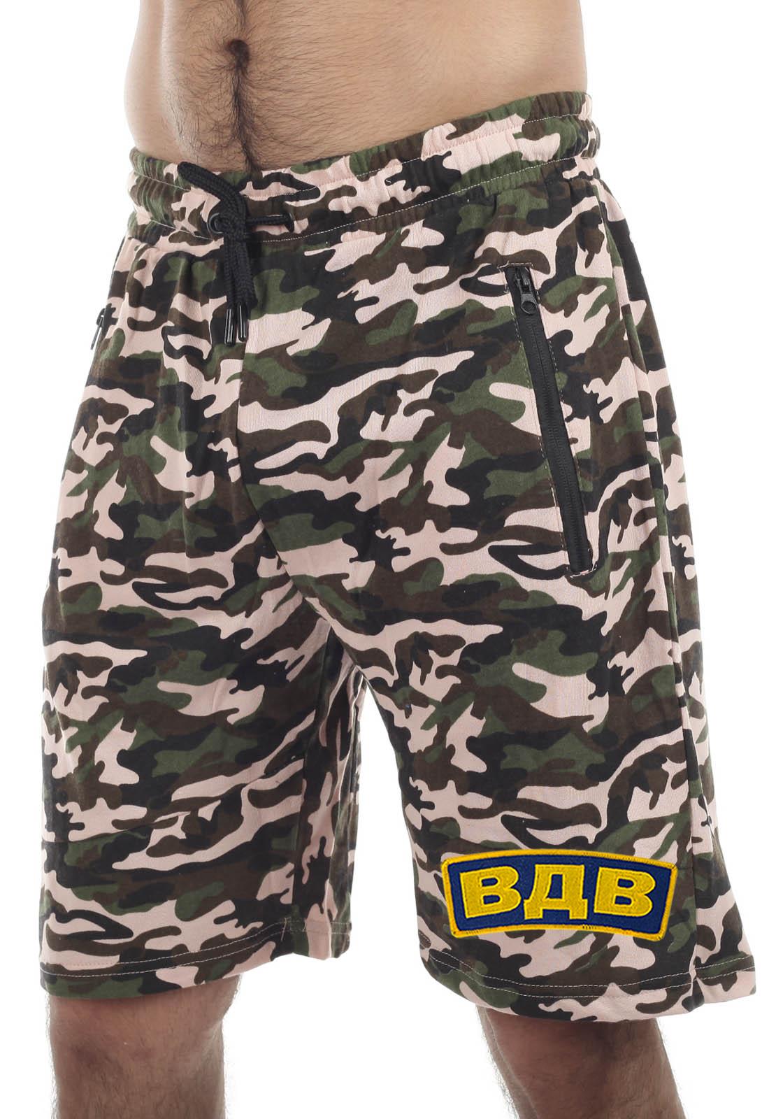 Купить в интернет магазине мужские камуфляжные шорты ВДВ