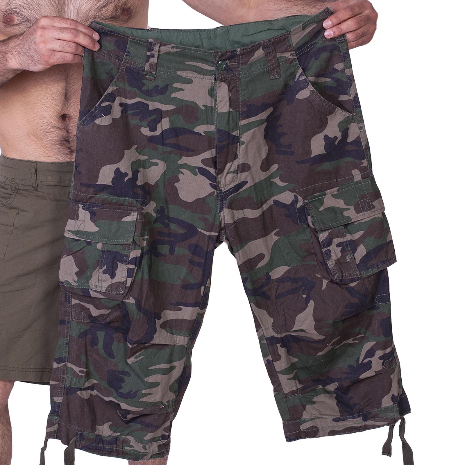 Камуфляжные шорты бермуды Brandit купить оптом и в розницу