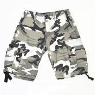 Мужские шорты Brandit в камуфляже MultiCam.