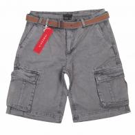 Фирменные мужские шорты CASTRO с ремнем.
