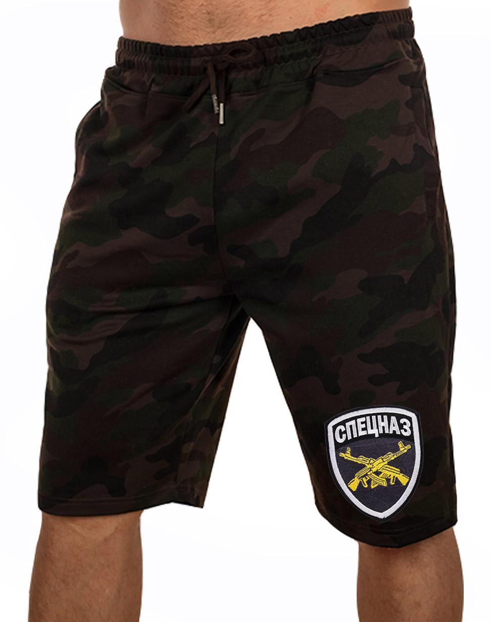 Купить в Москве шорты для мужчин с вышивкой Спецназ