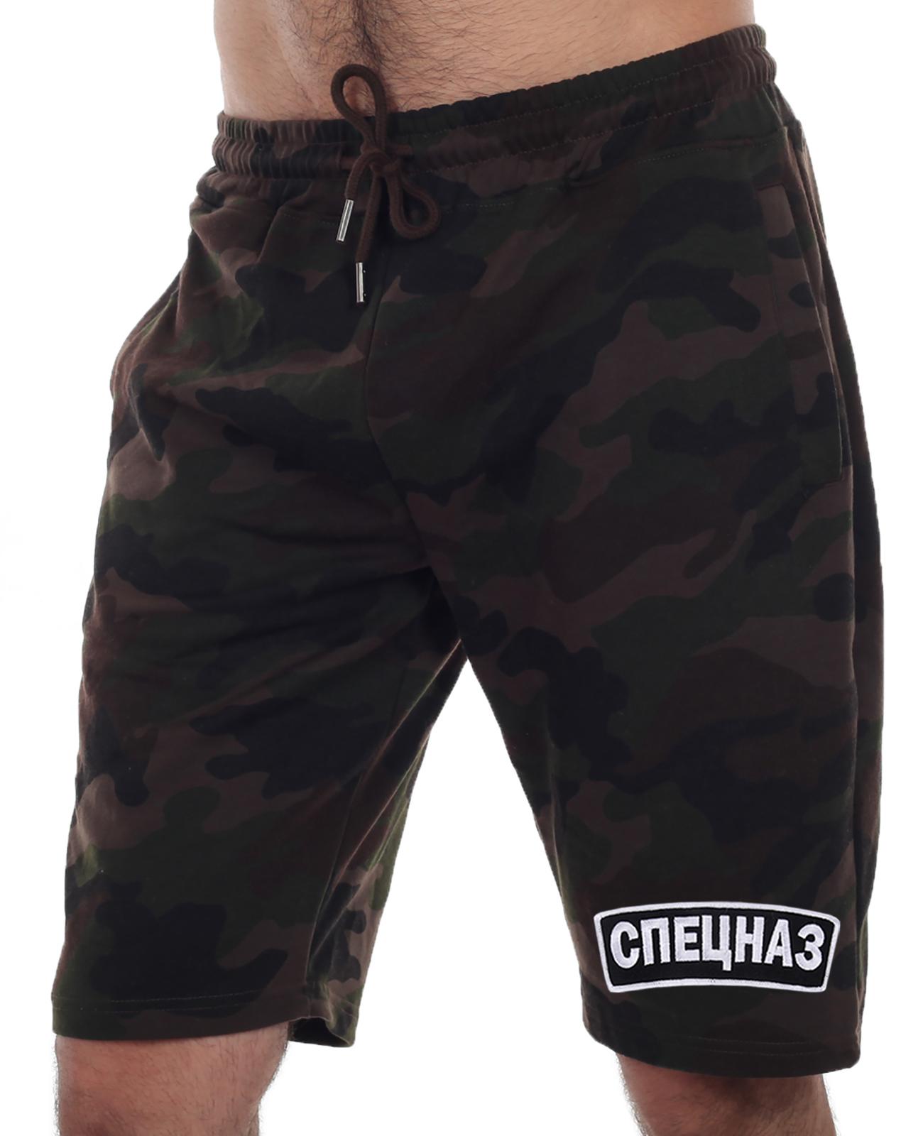 Крутые мужские шорты для Спецназа – 100% хлопок