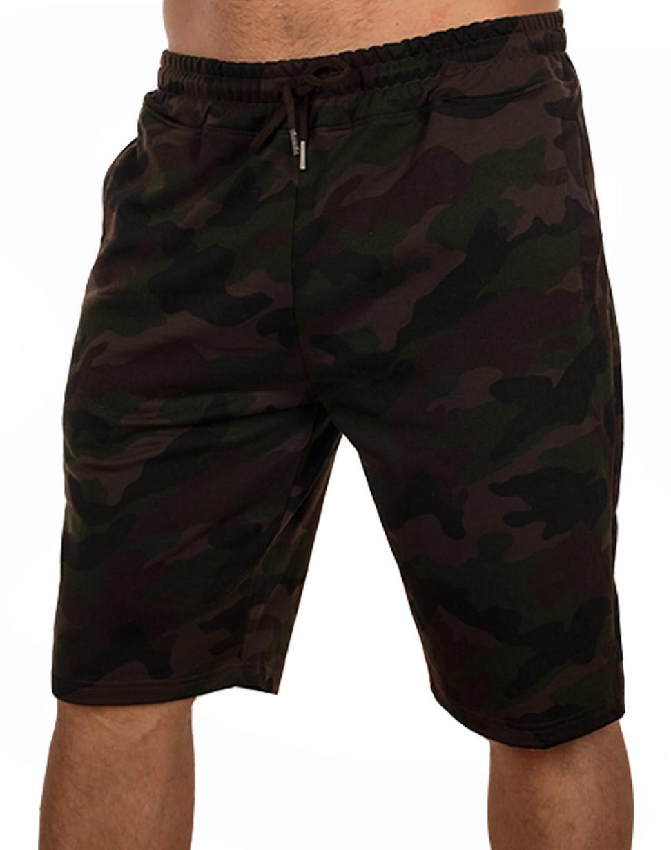 Купить в Москве мужские шорты камуфляж с карманами