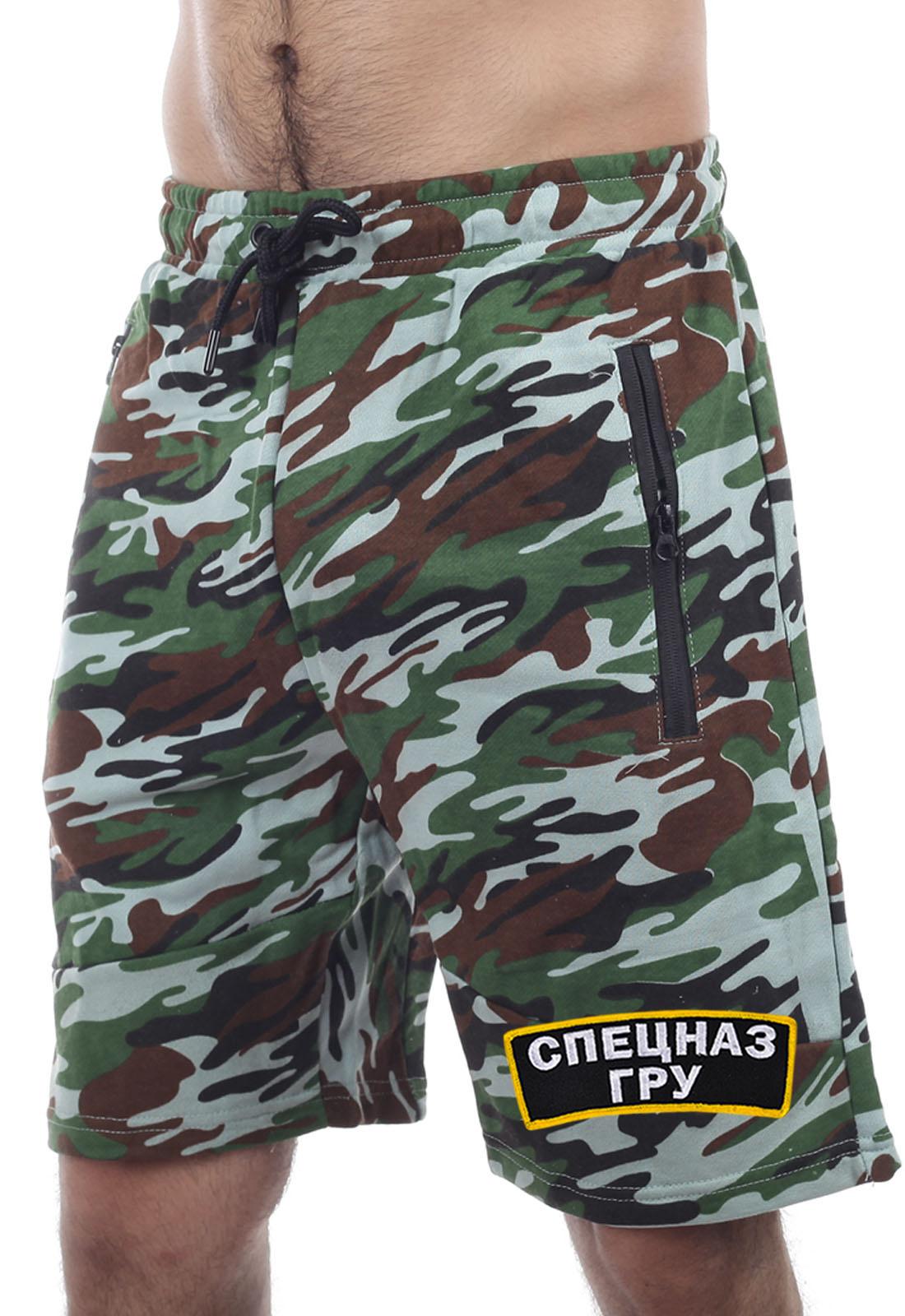 Купить мужские шорты с символикой Спецназа ГРУ