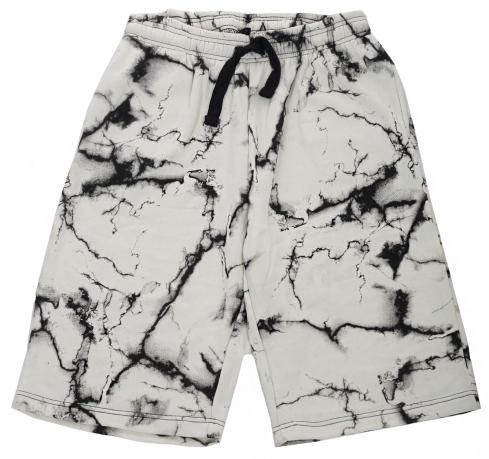 Утепленные микрофлисом мужские шорты на резинке от Vibes Gold Jogger