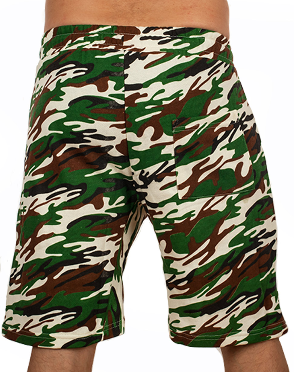 Купить в интернет магазине мужские милитари шорты выше колен