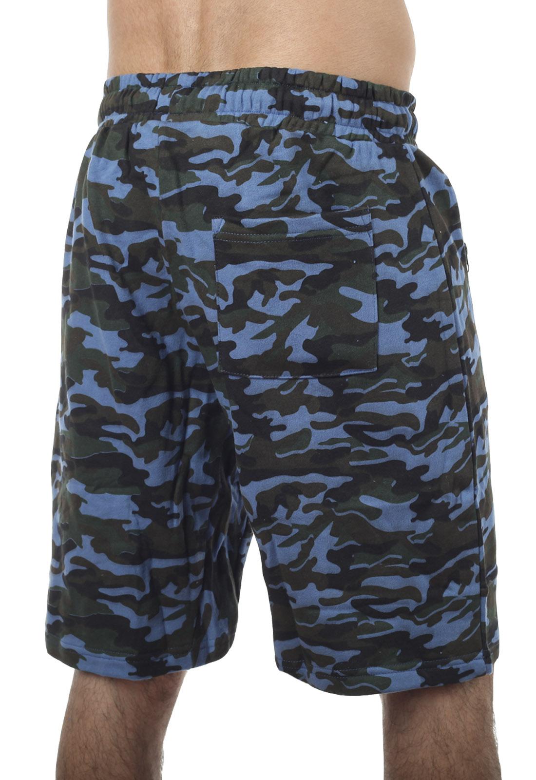 Спецназовские шорты с вышивкой – недорого и стильно