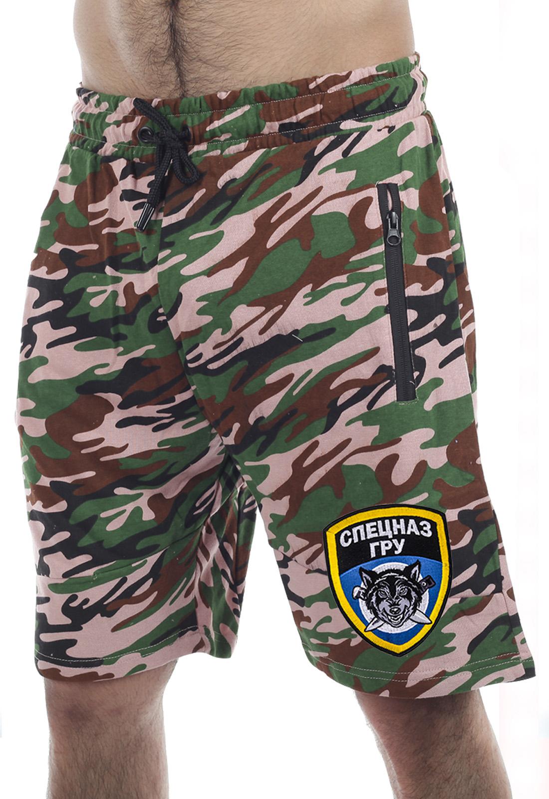 Купить в Москве шорты с эмблемой Спецназа ГРУ