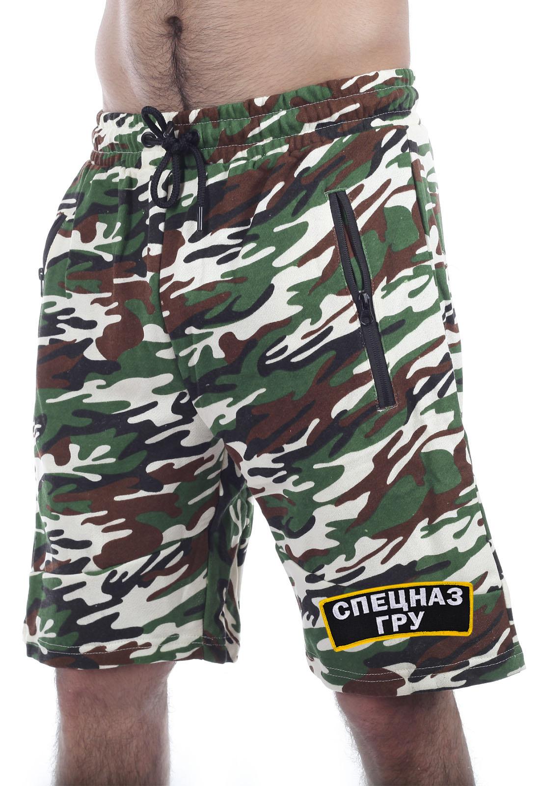 Купить в интернет магазине Военпро камуфляжные шорты ГРУ
