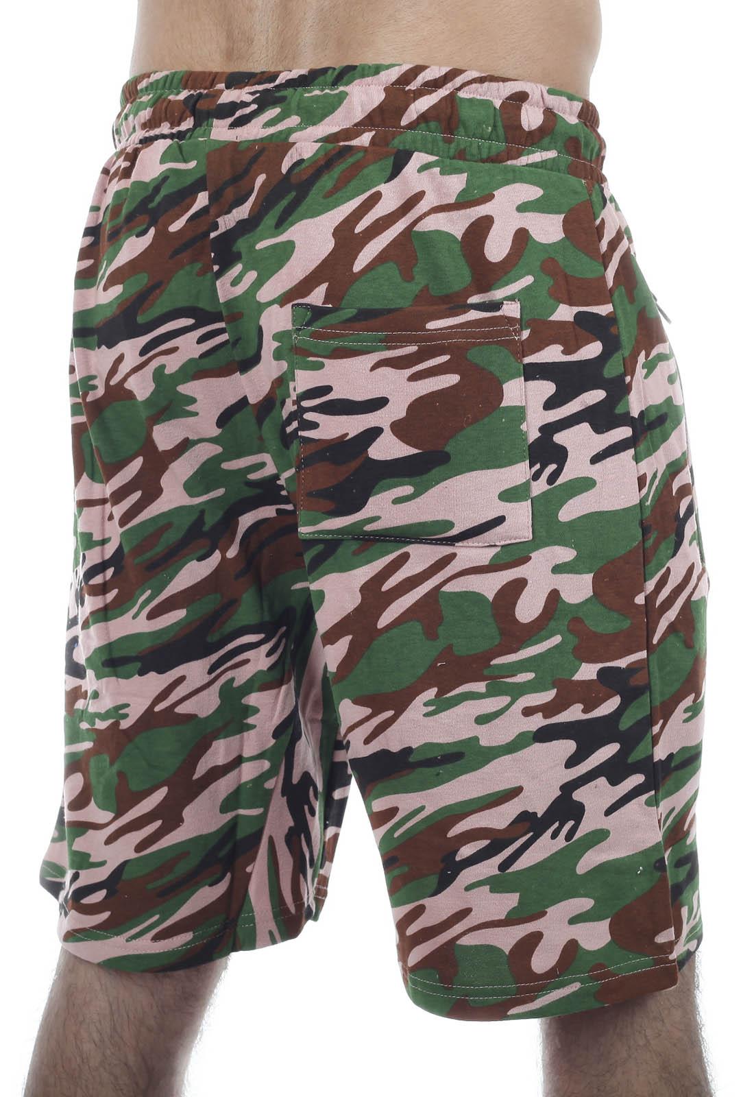 Мужские военные шорты New York Athletics в камуфляже «амёба»