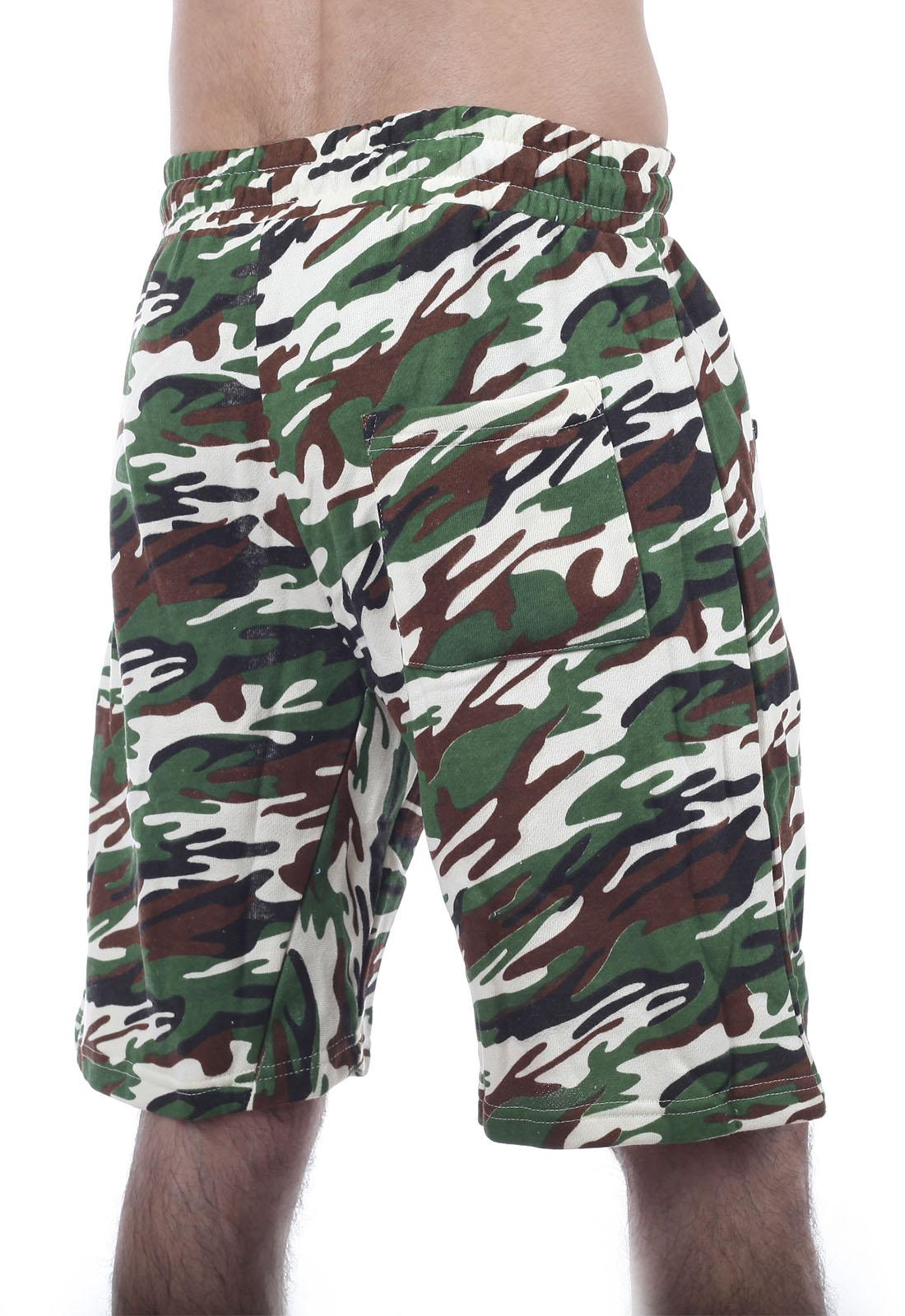 Купить в интернет магазине мужские шорты до колен