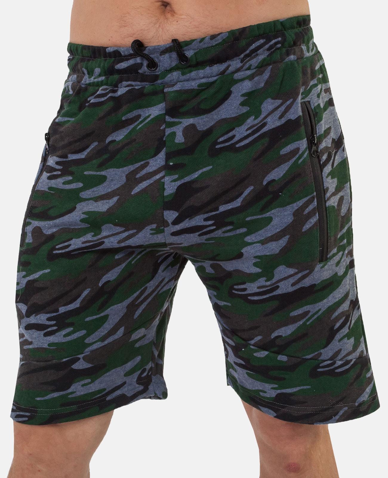Камуфляжные мужские шорты до колен – недорого, удобно и с быстрой доставкой