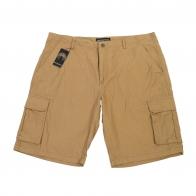 Мужские шорты Weatherproof хаки-песок с баковыми карманами.