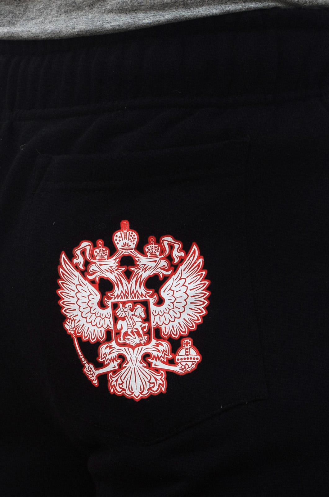 """Штаны """"Россия""""-голотип сзади"""