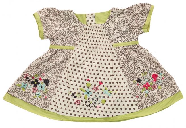 Симпатичное платье от Kinder Play® для маленькой принцессы