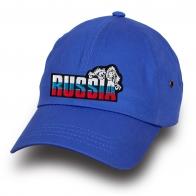Синяя бейсболка Russia