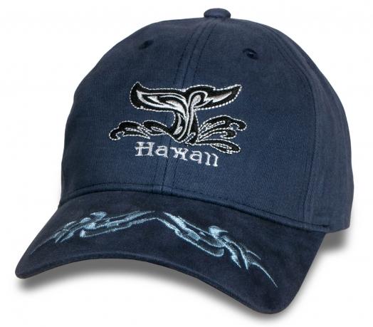 Синяя кепка-бейсболка Hawaii.