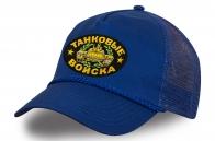 Синяя кепка с сеткой Танковые войска