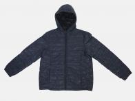 Синяя стеганая женская куртка от Iwie (Италия)