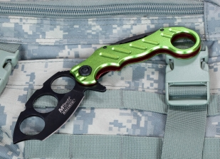 Складной нож Mtech MT-A863 Zombie Green  заказать онлайн