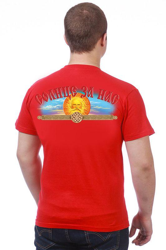 """Купить славянскую футболку """"Пересвет"""""""