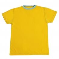 Солнечная футболка. Классический покрой, натуральный хлопок