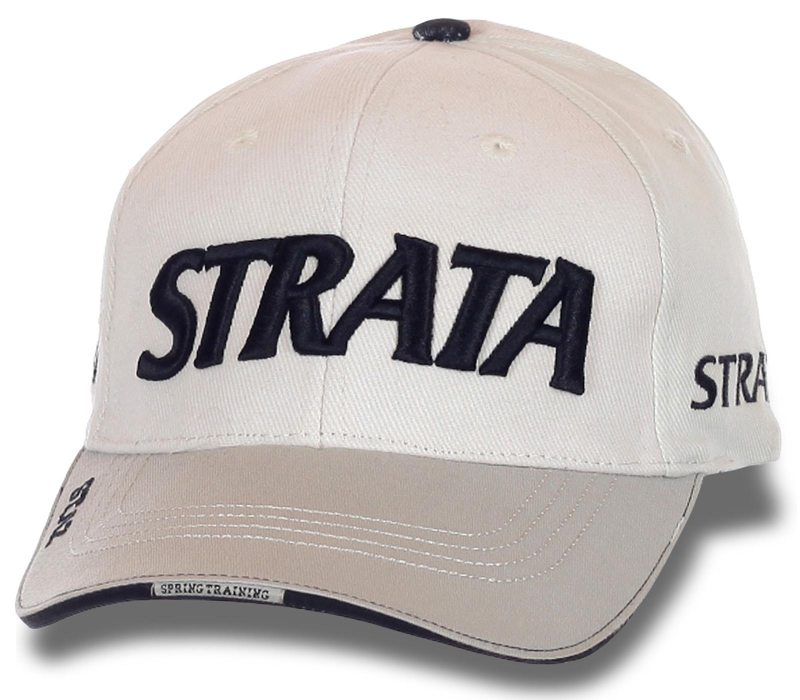 Современная кепка STRATA