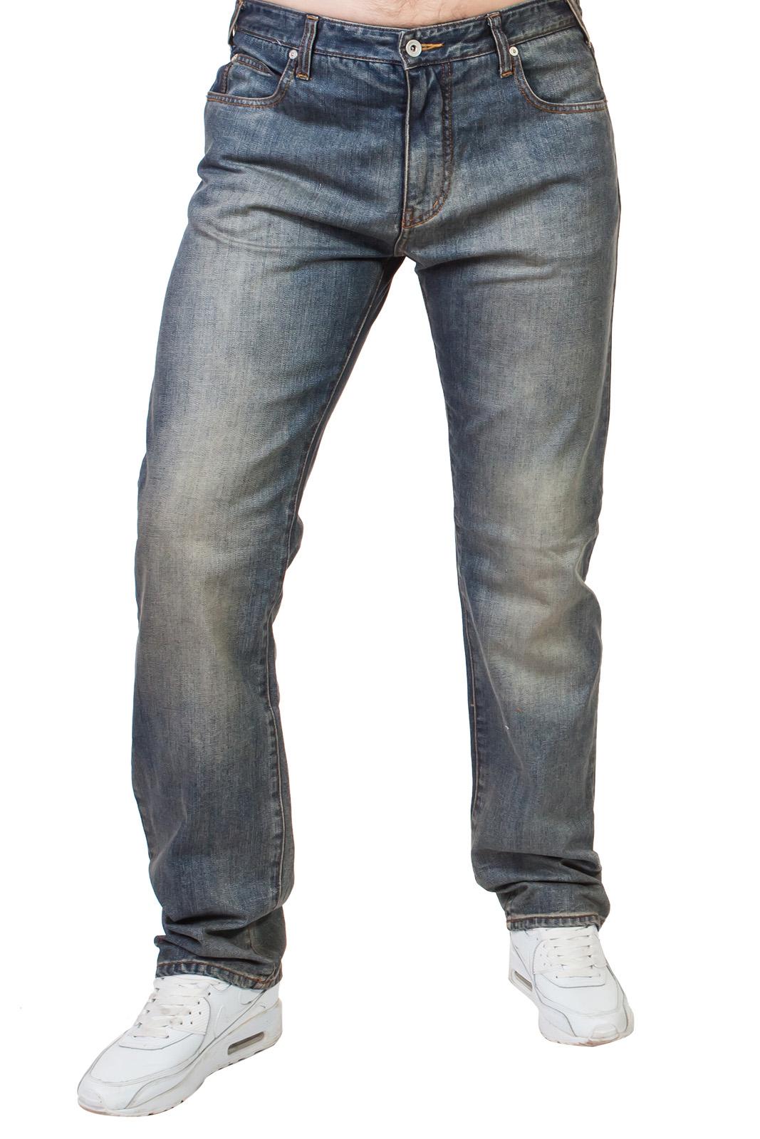 Купить в Москве свободные мужские джинсы Армани