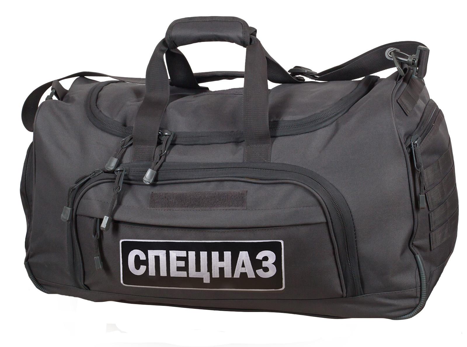Купить серую спецназовскую сумку в интернет магазине Военпро