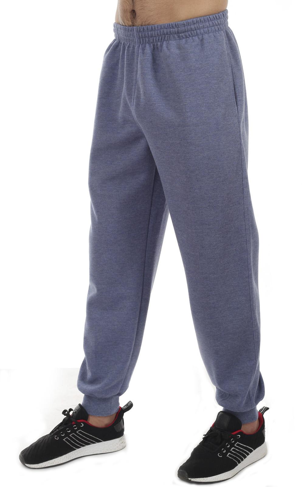 Купить в интернет магазине обычные серые спортивные штаны для мужчин