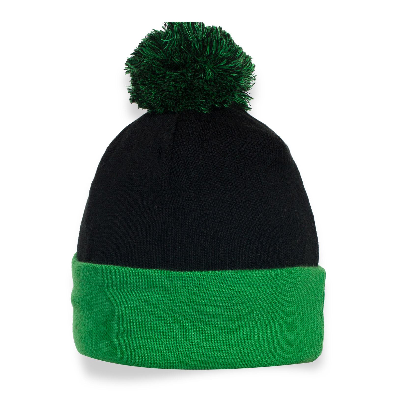 Спортивная шапка с помпоном