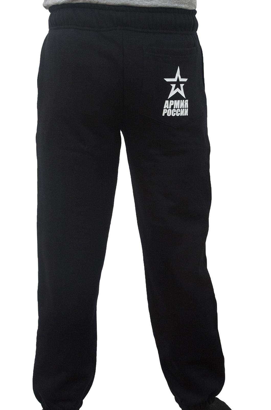 Широкие спортивные мужские штаны