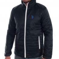 Стёганая мужская куртка U.S. Polo Assn с синтепоновым наполнителем