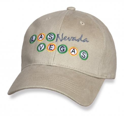 Стильная бейсболка Las Vegas.