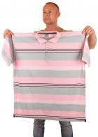 Мужская рубашка поло в контрастную полоску от DTEK JEANS.