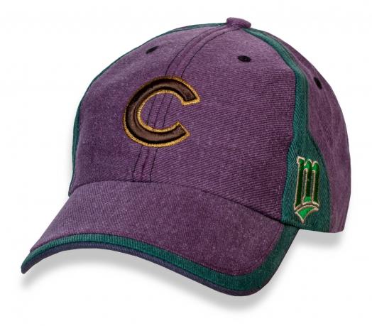 Стильная мужская бейсболка с лого