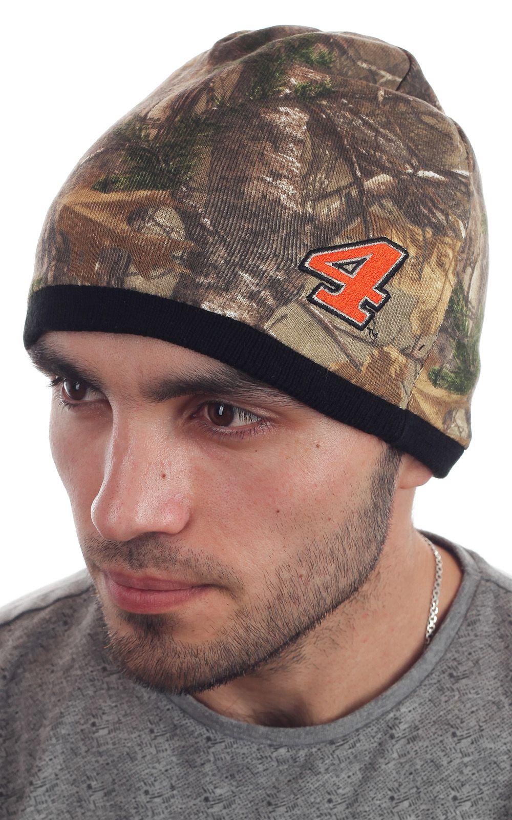 Купить шапку из камуфляжа