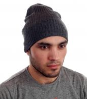 Стильная вязаная мужская шапка на зиму. Холод не помеха!