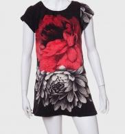 Стильное женское платье с оригинальным принтом от AMIE