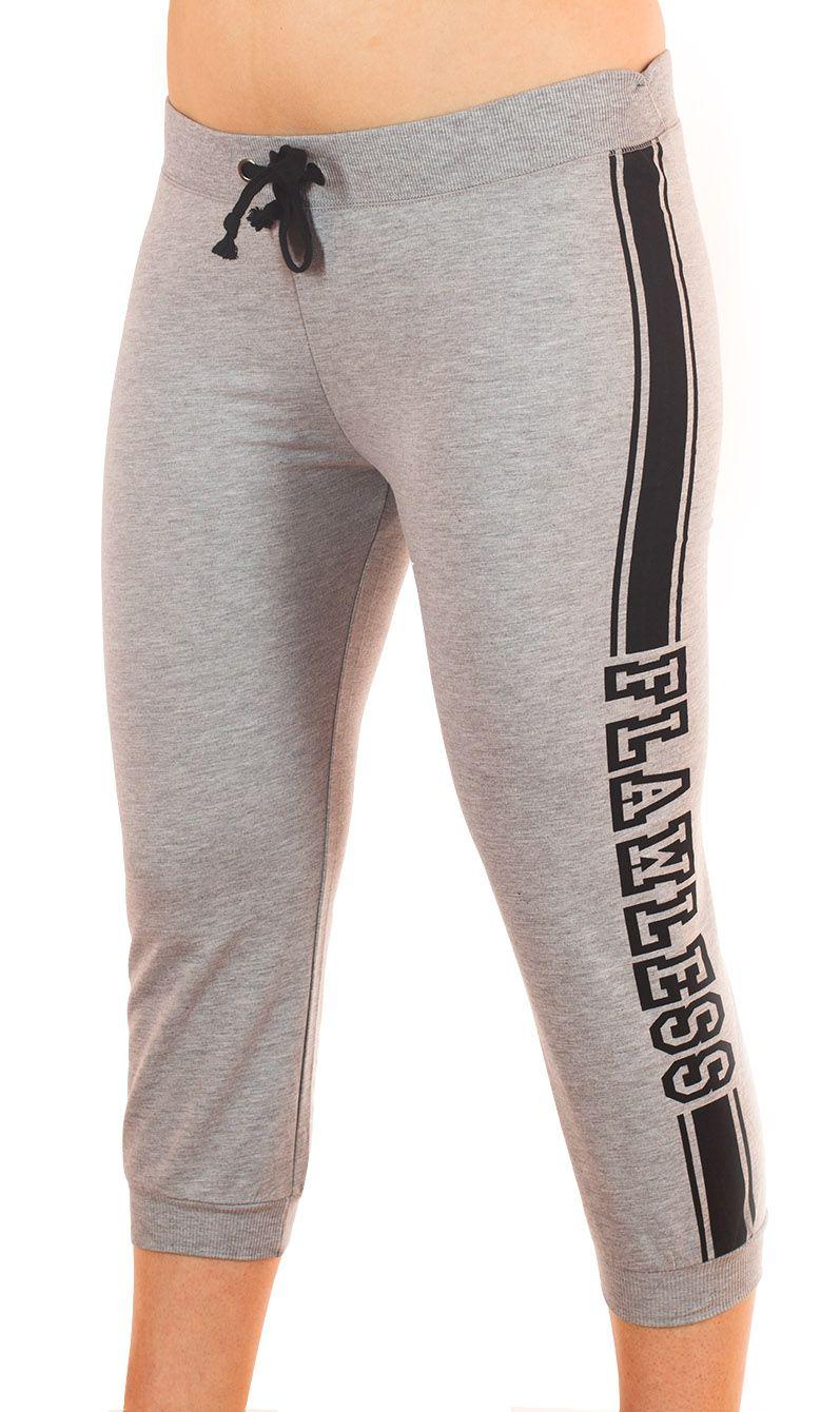 Стильные брюки капри Coco Limon для фитнеса