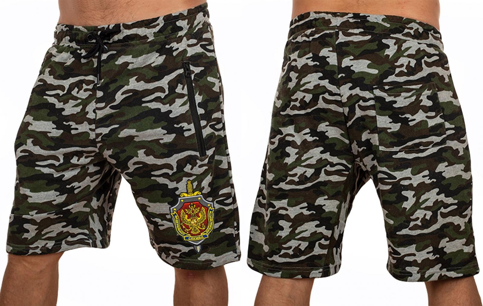 Стильные мужские шорты из камуфляжа купть в Военпро