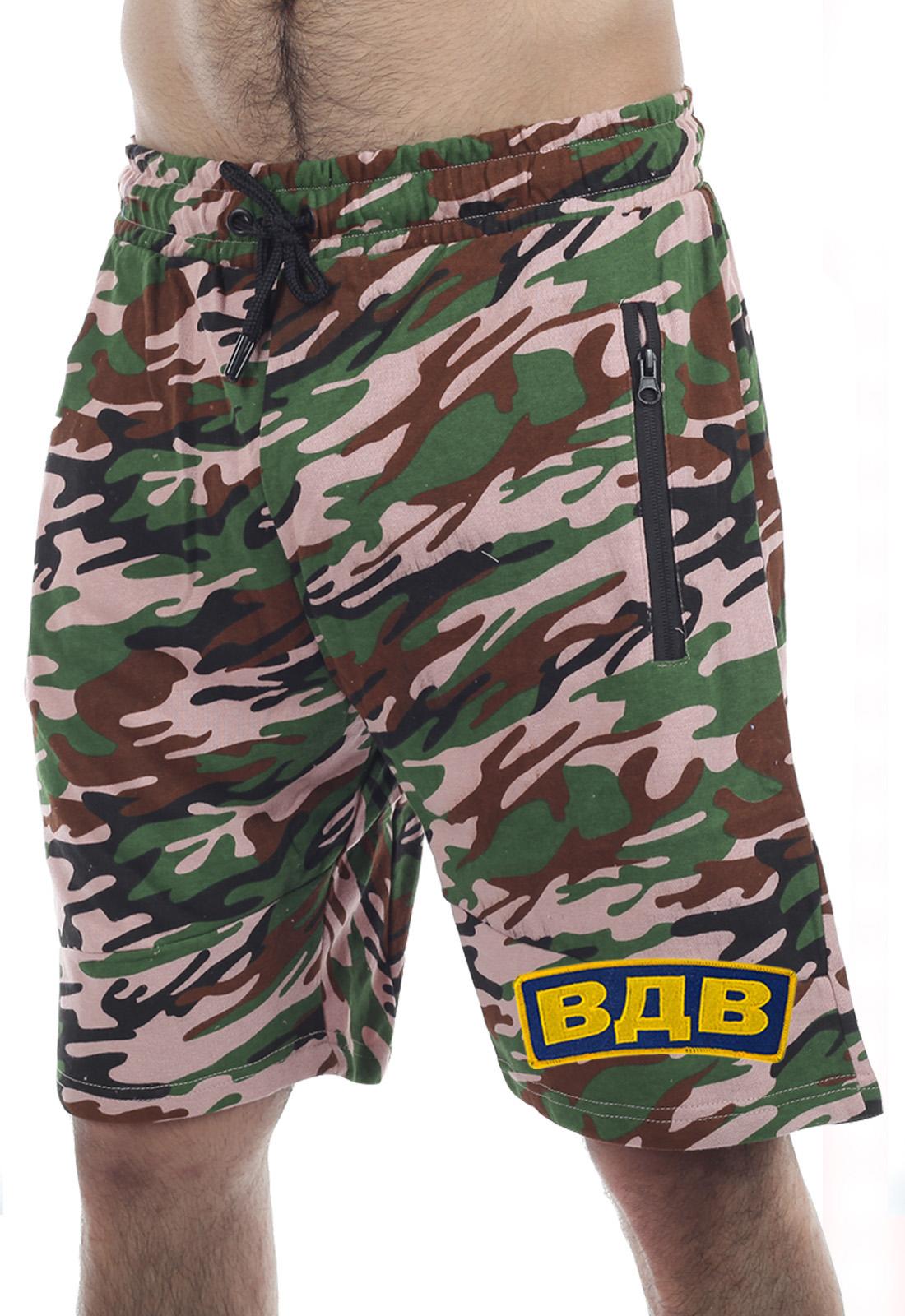 Недорогие мужские шорты ВДВ с карманами