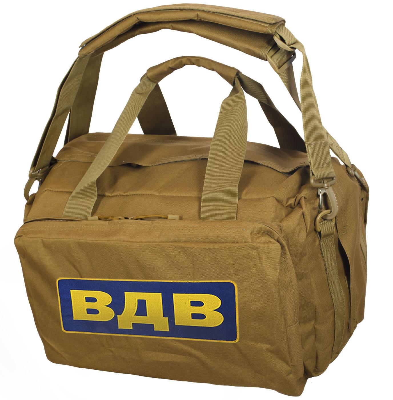 Походно-тактическая сумка ВДВ – недорогое обмундирование десанта в наличии в Москве
