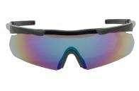 Стрелковые очки с 3 сменными линзами