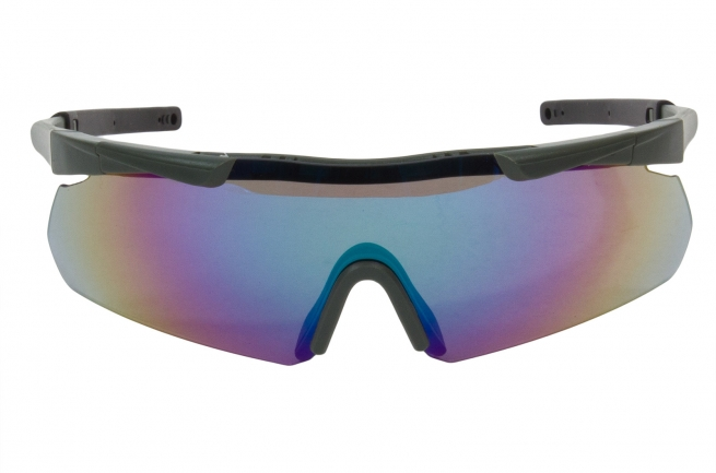 Купить стрелковые очки с 3 сменными линзами